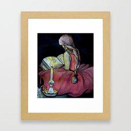 Candlelit Framed Art Print
