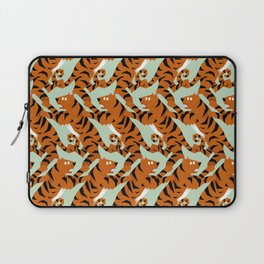 Tiger Conga pattern Laptop Sleeve
