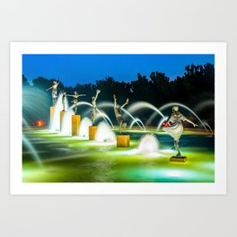 Kansas City Fountain of Playing Children Art Print