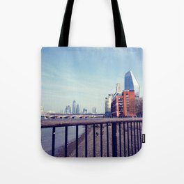 Vintage london skyline Tote Bag