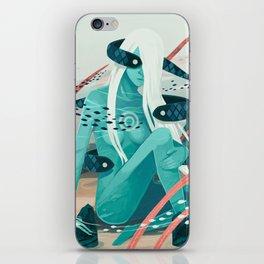 Heavy water iPhone Skin