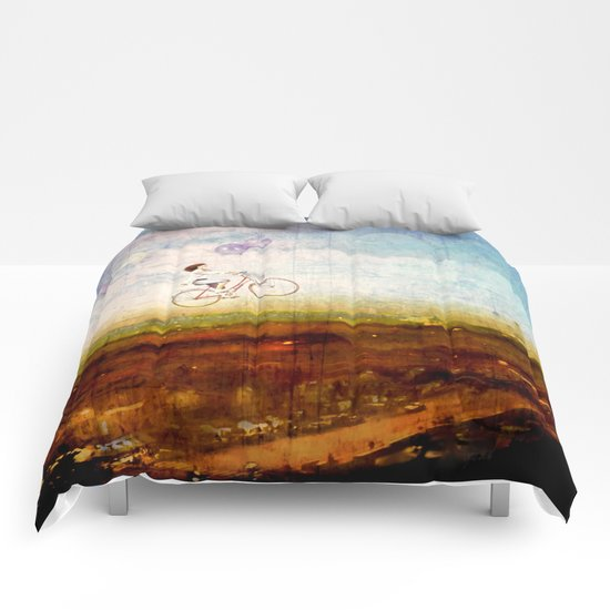 Prendre l'air Comforters