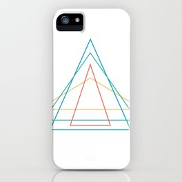 4 triangles iPhone Case