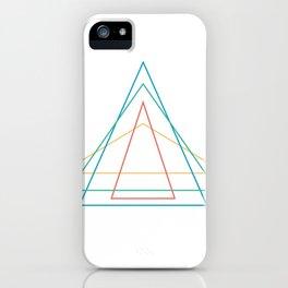 4 triangles iPhone Case
