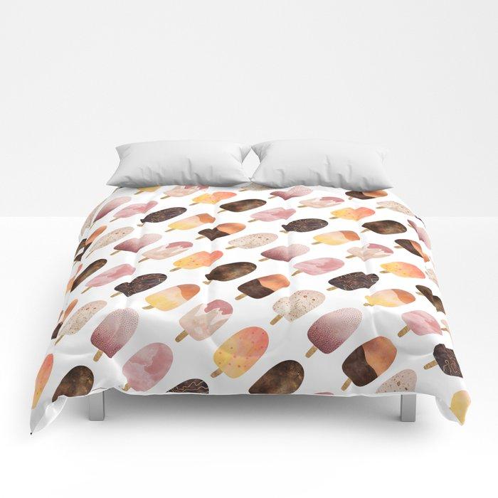 Pretty Popsicles 1 Comforters