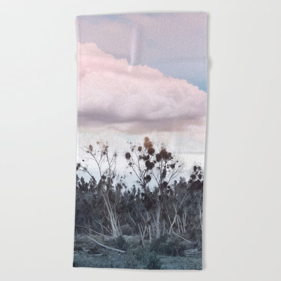 Landscape & Clouds II Beach Towel