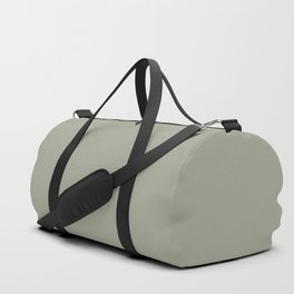 Sweet Pea Green Muted Pastel Green Solid Color Parable to Valspar Green Tea Leaves 5004-1C Duffle Bag