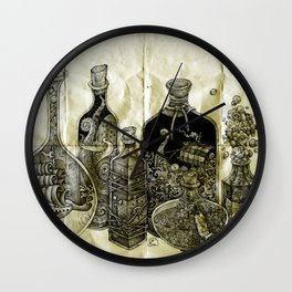 sea witch's cabinet Wall Clock