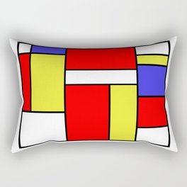 Mondrian #57 Rectangular Pillow
