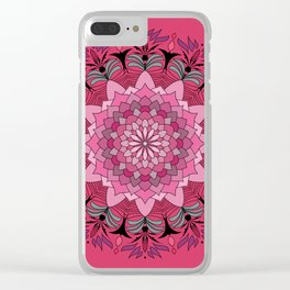 Exotic Flower 04 Clear iPhone Case