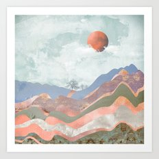 Journey to the Clouds Art Print
