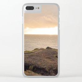 Lower Promontory Neahkahnie Footpath Clear iPhone Case