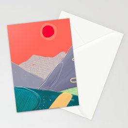 On The Road #3 Stationery Cards