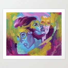 Hannah's beauty  Art Print