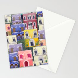 Puerto Rico architecture pattern in spring Stationery Cards