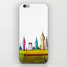 fabulous city painted iPhone & iPod Skin