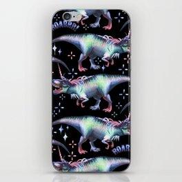 Dinocorn Unisaur Fantasy Roaring Dinosaur Unicorn T-Rex iPhone Skin