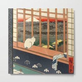 Asakusa ricefields and torinomachi festival Metal Print