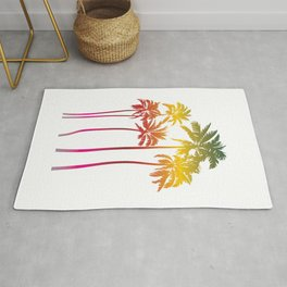 Magical palms trees Rug