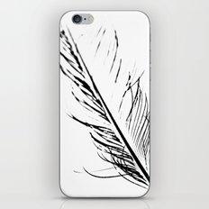 Peacock Feather 4 iPhone & iPod Skin