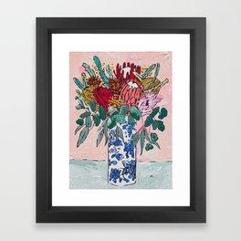 Australian Native Bouquet of Flowers after Matisse Framed Art Print