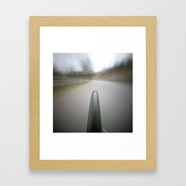 pinhole 495, on my way home Framed Art Print