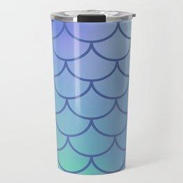 Blue & Purple Mermaid Travel Mug