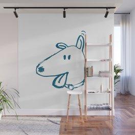 Who's A Good Boy? #eclecticart Wall Mural