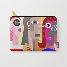 Six People Carry-All Pouch