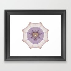 Webbed Heart Framed Art Print