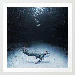 An Underwater Spell Art Print