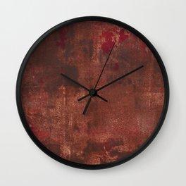 Abstract No. 415 Wall Clock