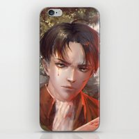 levi iPhone & iPod Skins featuring Levi SnK by x3uu
