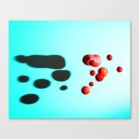 fruits Canvas Prints featuring Fruits by Baloo