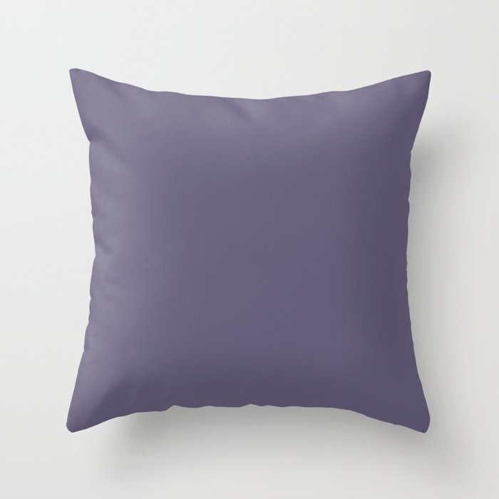 VA Mystical Purple / Metropolis Lilac / Dried Lilacs - Colors of the year 2019 Throw Pillow