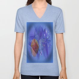 Fish world Unisex V-Neck
