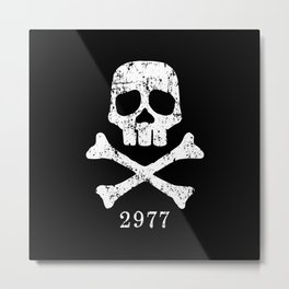 Space Pirate Metal Print