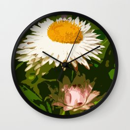 """And then there were Three"" by ICA PAVON Wall Clock"
