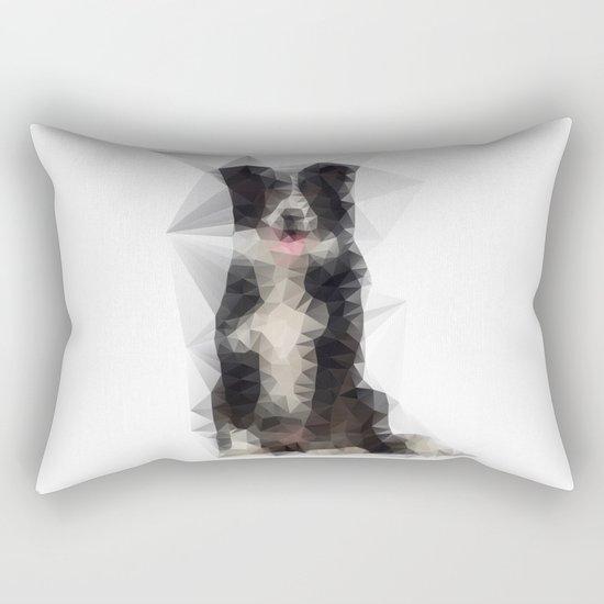 Collie Funk Rectangular Pillow