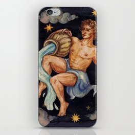 Zodiac sign Water Bearer iPhone Skin
