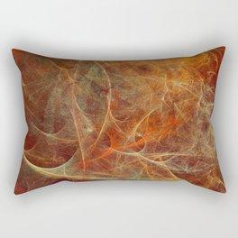 Abstract texture in autumn tones Rectangular Pillow