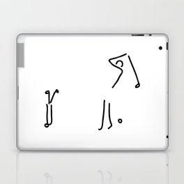 golfer on golf course Laptop & iPad Skin