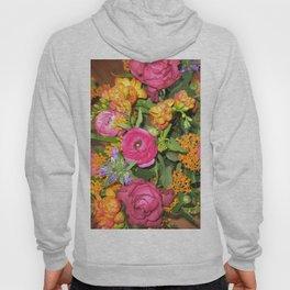 Annas Flowers V Hoody