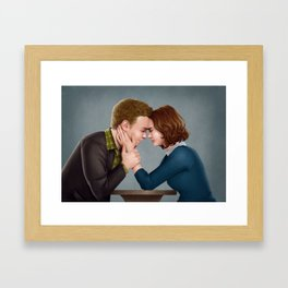Fitzsimmons - The Forehead Touch Thing Framed Art Print