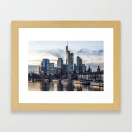 Frankfurt 2 Framed Art Print