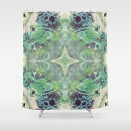 Abstract Texture Shower Curtain