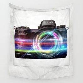 polaroids / camera Wall Tapestry