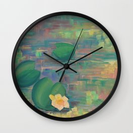Water pond in India Wall Clock