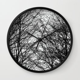 Tree Silhouette Series 8 Wall Clock