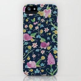 Grape Hyacinth iPhone Case